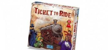 """Развивающая игра """"Билет на поезд"""""""