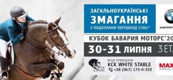 Соревнования по преодолению препятствий в конно-спортивном клубе White Stable