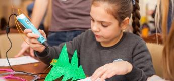 Новогодний мастер-класс по рисованию 3D ручками