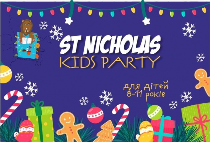 St Nicholas Day kidsparty (8-11 років)