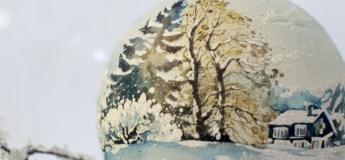 Мастер-класс по росписи новогодних шаров