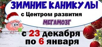 """Зимние каникулы в ЦР """"Мегамозг"""""""