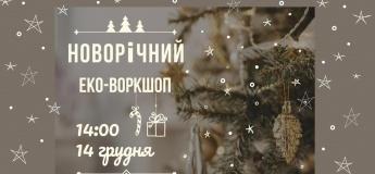 Новорічний еко-воркшоп у Львові