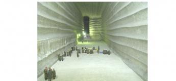 Поездка в соленую шахту Соледара