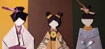 Японська лялька Чіогамі Нінгьо
