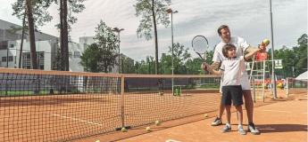 """Весенний лагерь для детей """"Английский + теннис"""" от Speak Up"""