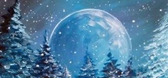 """Майстер-клас з живопису """"Омріяна зима"""""""