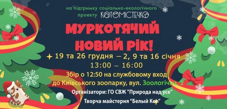 МуркКошачий Новый Год в Котогородке