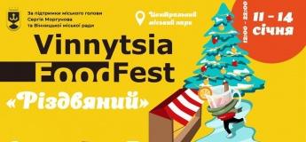 """Різдвяний """"Vinnytsia Food Fest"""". Закриття головної ялинки"""