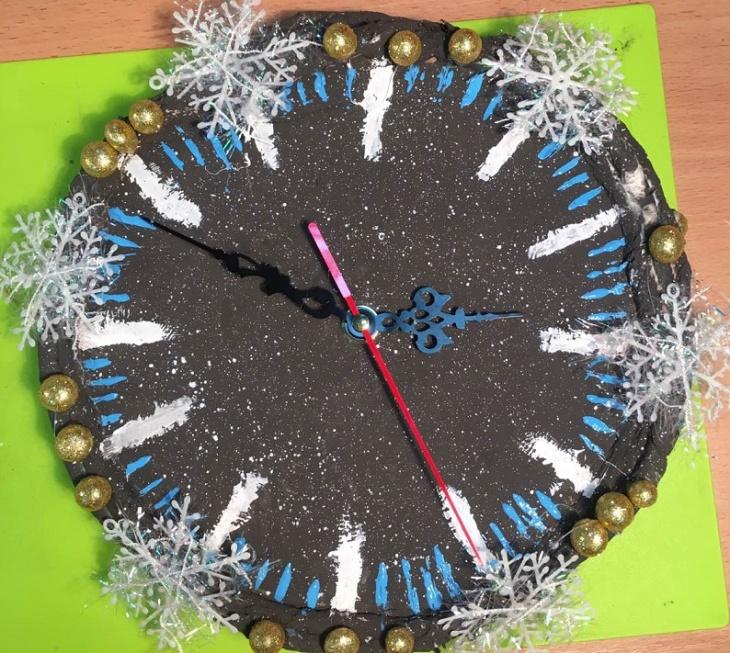 """Мастер-класс """"Настенные часы своими руками в подарок близким"""""""