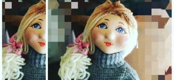 """Майстер-клас """"Авторська лялька"""""""