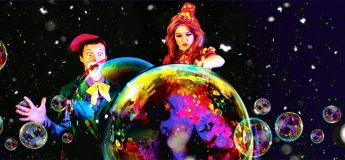 Легенда о снеге - прощание с зимой! Crazy Bubble Show в Одессе