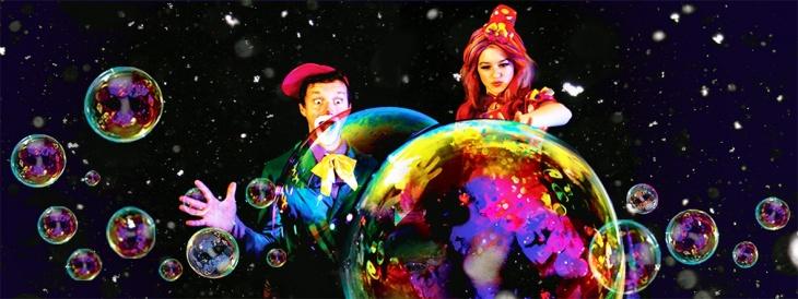 Легенда о снеге - прощание с зимой! Crazy Bubble Show