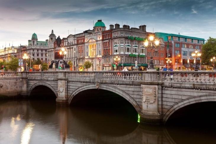 Літні канікули в центрі Дубліна