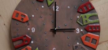 """Майстер-клас """"Керамічний годинник"""""""