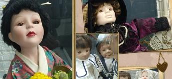 """Виставка ляльок Ірини Хаджинової """"Закулісся старої ляльки"""""""