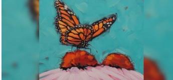 """Майстер-клас з живопису для дітей """"Метелик"""""""