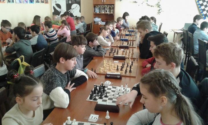 Шаховий турнір з нормою 2, 3 і 4 розрядів 22-23 лютого