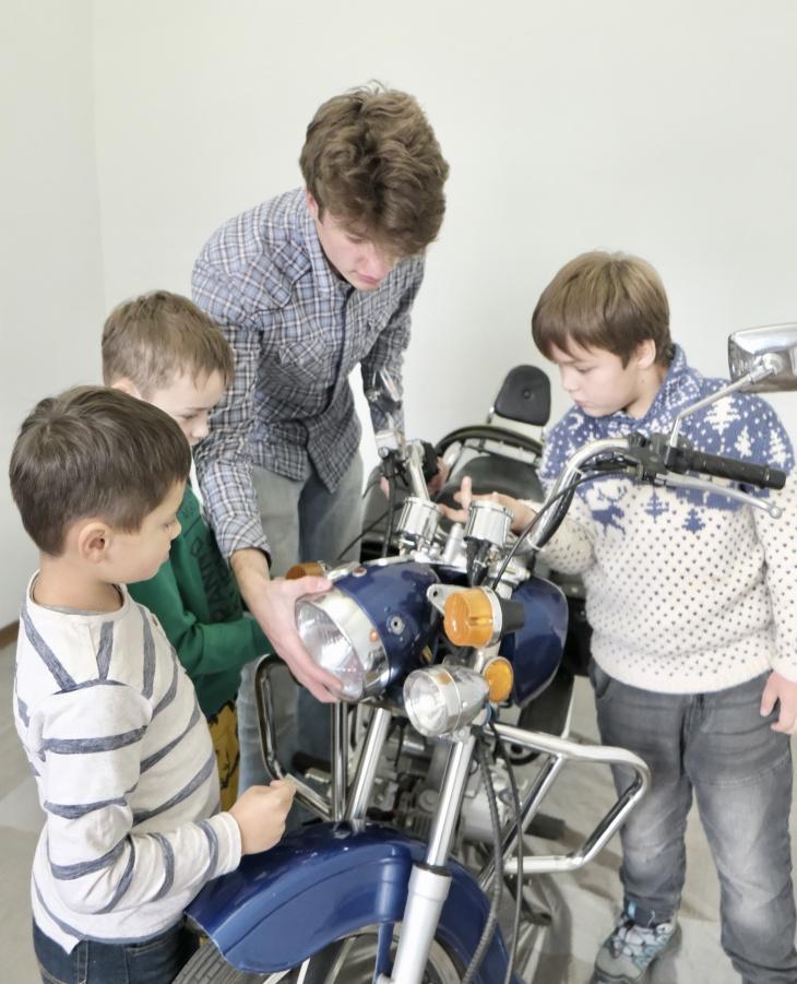 Моделизм для детей 8-16 лет