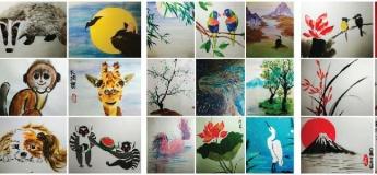 Мастер-клас по восточной живописи