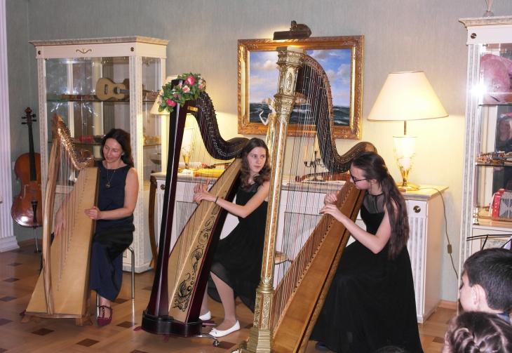 Музична екскурсія для туристичних груп в музей музичних інструментів