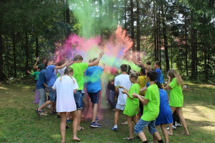 Freestyle camp - дитячий табір в Карпатах. Літо 2020.