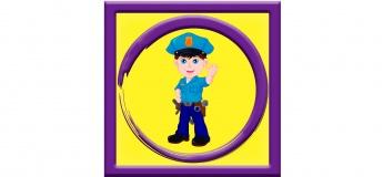Аніматор Поліцейський на дитячому святі в Києві