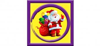 Аніматор Санта Клаус на дитячий День народження в Києві
