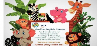 Он-лайн курс англійської для дітей від американських спеціалістів