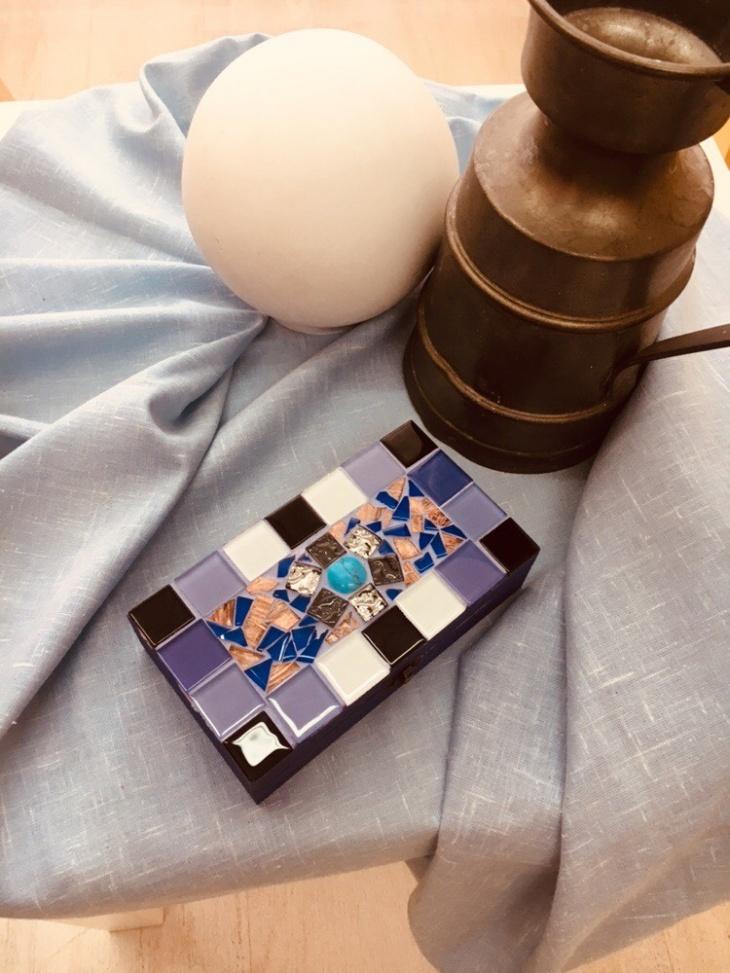 Детский Мастер-класс «Создаём изделия из мозаики»