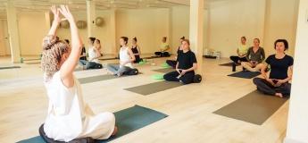 Открытое занятие по йоге для беременных