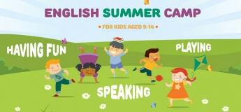 Летний английский практикум для детей и подростков