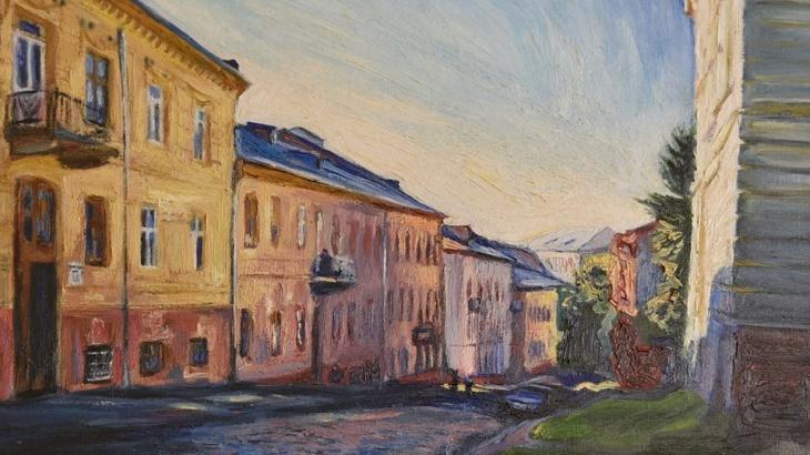 «Барви великого міста», виставка Олени Каменецької-Остапчук