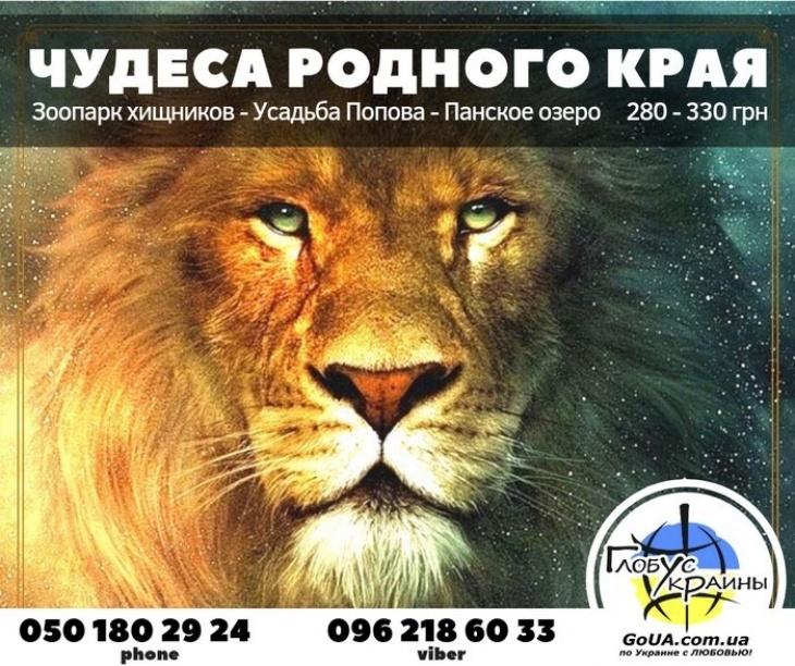 Васильевка: замок Попова, зоопарк Пылышенко, Панское озеро