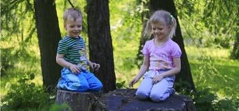 Ігрова сімейна екскурсія Стрийським парком для дітей 4 - 6 та 7 - 9