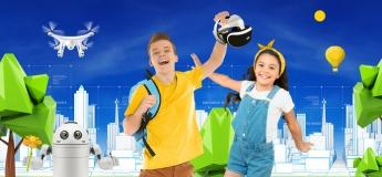 Презентація літнього IT-табору у Кривому Розі для дітей 7-15 років