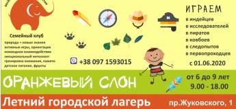Летний Городской лагерь для младших школьников