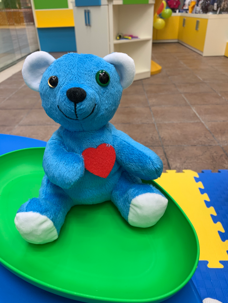 Онлайн трансляція демонстрація нових м'яких іграшок