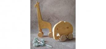 Іграшки на колесиках