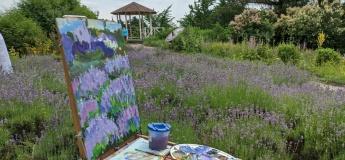 Малюємо в ботанічному саду ім.М.М.Гришка