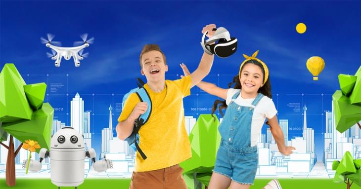 Презентація літнього IT-табору для дітей 7-15 років