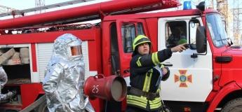 Экскурсия в пожарно-спасательную часть Приднепровска