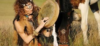 Индейский день в конном клубе Аллюр