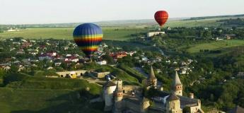 Парад воздушных шаров в Каменце + Черновцы