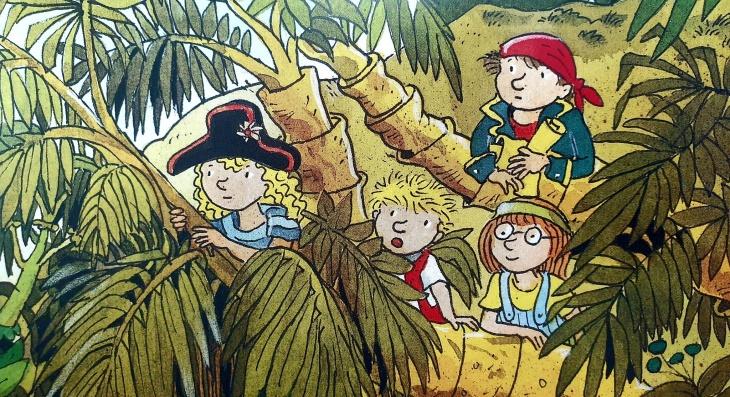 Рятівні сторітайми з Goethe-Institut: Чотири маленьких пірати