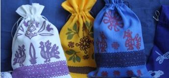 Выбойка на ткани от Мастерской Оксаны Билоус