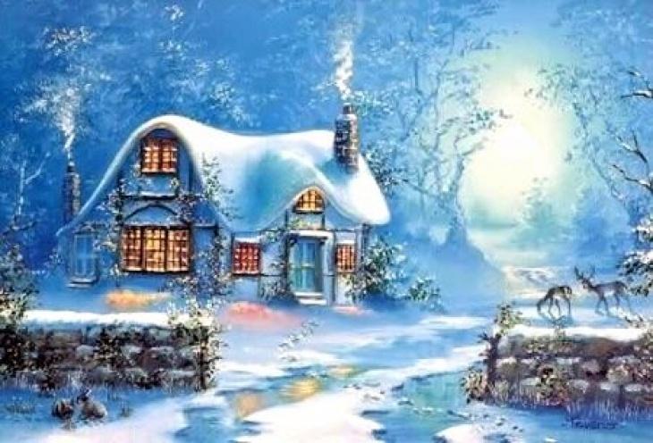 Art Happy Travel - зимові художні майстер-класи Online