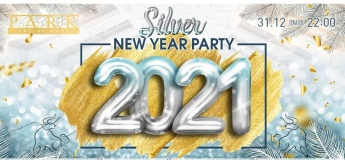 Silver New 2021 Year