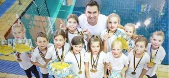 Набор детей в группу синхронного плавания