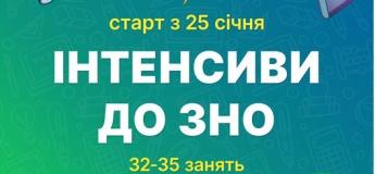 Інтенсиви до ЗНО в Києві та онлайн